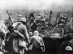 World War I Western Front soldiers Verdun France