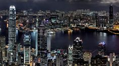 Hong kong night wallpaper city world wallpapers for free download