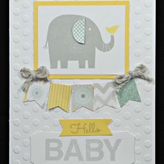 CTMH Georgie Paper Packet baby card