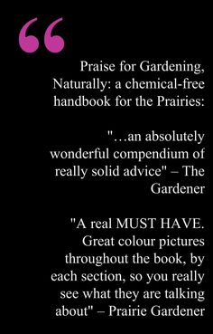 Gardening, Naturally. Available online from www.coteaubooks.com
