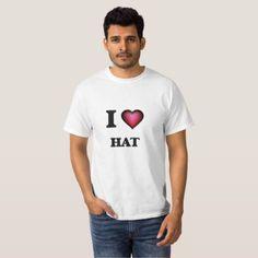 #template - #I love Hat T-Shirt