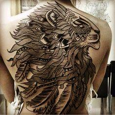 #lion #mandala #fullback