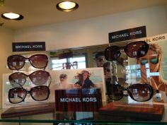 Our Michael Kors display