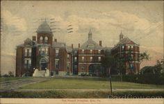 The Hamot Hospital, Postmark/Cancel:  1911 Jul-21  Erie, PA