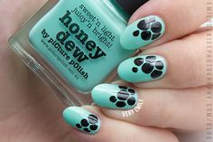 Very Emily » piCture pOlish Honey Dew & Darcy