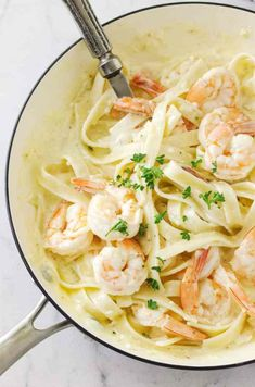 Creamy Garlic Butter Shrimp Pasta - Savor the Best