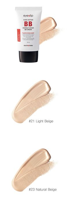 [Visit to Buy] ZANABILI Korea Cosmetics EYENLIP Pure Cotton Perfect Cover BB Cream SPF50+PA+++ 30ml Whitening Nude Makeup Concealer Isolation #Advertisement