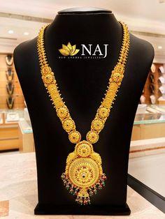 Enjoy this Sravanam with BIG SALE on Gold & Diamond Jewellery...Call or Whatsapp us on 9032041323 or email to mynaj@najindia.com... Available Only @ Naj Jewellery, Nellore. #bigoffers #MyFavouriteNAJ #southindianjewellery #haaram #sravanam #necklace #bridaljewellery #bridal #jewellery #nellore #bengaluru #chennai #hyderabad Crochet Necklace, Beaded Necklace, South Indian Jewellery, Jewelry Model, Bridal Jewelry, Diamond Jewelry, Jewels, Gold, Hyderabad