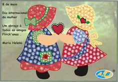 ...I've got to learn how to do applique! I love Sunbonnet Sue.