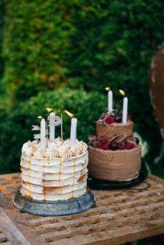 Chocolate & Caramel Cakes