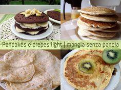 Pancakes e crepes light