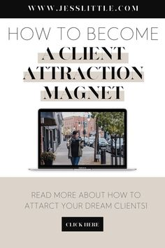 Not sure how to attract dream clients to your business? Check out the best tips to become a client attraction magnet. We've gathered the best ways on landing your ideal clients and grow your online business. This will help you build a successful and thriving business. Learn more at www.jesslittle.com to learn more. Creative Business, Business Tips, Online Business, Business Marketing Strategies, Understanding Dreams, Business Checks, Promote Your Business, Business Motivation, Landing