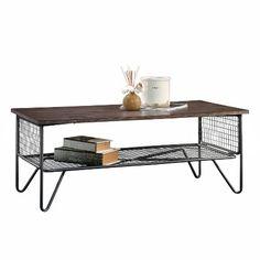 new grange coffee table vintage oak sauder - Coffee Tables Target
