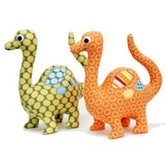 Download Dinosaur Softie Sewing Pattern Sewing Pattern | Toys Activities | YouCanMakeThis.com