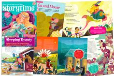 Sneak a peek at Storytime Issue 20's wonderful stories and illustrations! ~ STORYTIMEMAGAZINE.COM