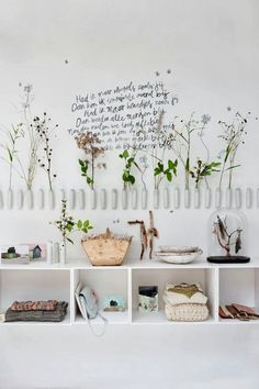 Flores y plantas colgantes :ideas DIY - oddyneighbours.com/blog