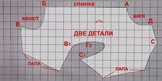 выкройка комбинезона для собаки удобный покрой: 18 тыс изображений найдено в Яндекс.Картинках
