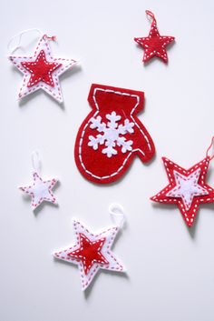 kid christmas craft, or tags for gifts