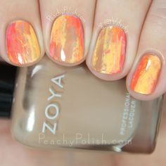 Happy Thanksgiving to my fellow Americans! I hope you all have a lovely day with your family and friends and that you just stuff yourself silly! :) To kick off this Turkey Day, I have a Fall themed manicure to share with you. This manicure was created as part of a monthly link-up I participate …