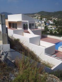#Casas #Moderno #Exterior #Fachada #Arboles #Ventanas