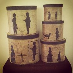 Hanway Mill House Silhouettes on etsy !