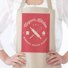 baking personalised apron by old english company | notonthehighstreet.com