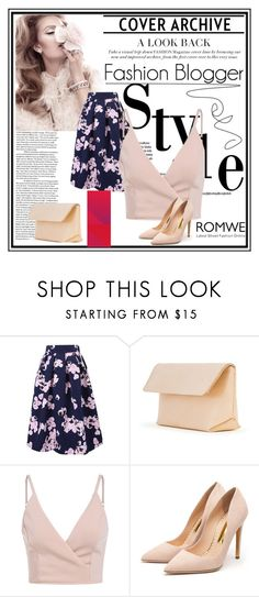 """Romwe Contest"" by nedim-848 ❤ liked on Polyvore featuring WithChic, Iala Díez and Rupert Sanderson"