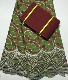 2017 High quality African swiss voile + Free Matching aso oke headtie - Owame