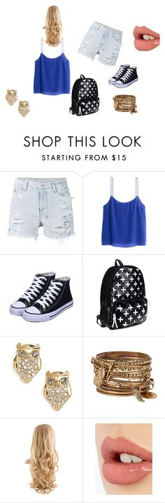 """""""Easy L00k"""" by fashion41323 ❤ liked on Polyvore featuring Ksubi, H&M, Kate Spade, ALDO and Charlotte Tilbury"""