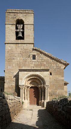 Lerida Els Plans de Sió, Església de Sant Esteve