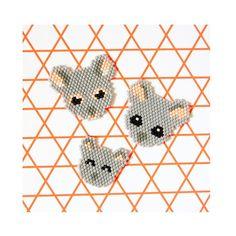 23 Décembre Et voici toute la petite famille Koala ❤️ il ne reste qu'une seule case à ouvrir j'espère que ce calendrier vous a plu #miyuki #miyukidelica #miyukibead #tissage #diy #handmade #adventcalendar #head #grey #pink #cute #wild #animal #koala #charlottesouchet #lapetiteepicerie #jenfiledesperlesetjassume #jenfiledesperlesetjaimeca #motifcharlottesouchet ❤️