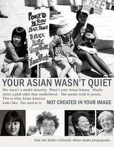 Yuri Kochiyama, who died on June 1st 2014 was a well known Asian activist and was major proponent for people of color solidarity. Description from pinterest.com. I searched for this on bing.com/images
