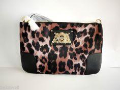NWT Juicy Couture Malibu Nylon Crossbody Leopard YHRU3710