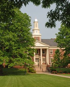 Long Hall, the most photographed building on campus.