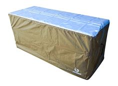YardStash Deck Box Cover XL to Protect Large Deck Boxes: Suncast Deck Box Cover, Lifetime 60012 Extra Large Deck Box Cover, Rubbermaid Deck Box Cover & Rubbermaid w/Seat Deck Box Cover Deck Box, Box Houses, Boxes For Sale, Covered Boxes, Storage Boxes, Outdoor Furniture, Outdoor Decor, Outdoor Storage, Wicker