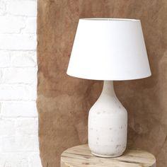 Newport Ceramic Lamp - Stone