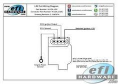 ls1 coil wiring diagram auto repairs pinterest fuel injection rh pinterest com Relay Coil Wiring Diagram LS1 Coil Connector