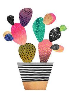 Happy Cactus en Impression sur toile | JUNIQE https://www.juniqe.fr/happy-cactus-toiles-imprimees-1388743.html