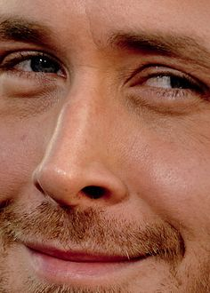 ryan gosling~perfect even close up!