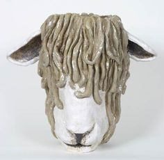 Lincoln Longwool Sheep by Maggie Betley from Zoo Ceramics
