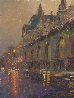Charles Warren Mundy 1945 | American Impressionist painter | Tutt'Art@ | Pittura * Scultura * Poesia * Musica |