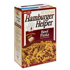 how to cook hamburger helper beef pasta
