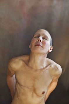 boudoirboudoir:    Peta by Eryca Green, 2011 (by National Portrait Gallery)  This photograph is a finalist in the National Photographic Portrait Prize 2012 on display at the National Portrait Gallery in Canberra from 20 March to 20 May 2012.  Artist Statement: We see many images of how awful cancer is and the suffering it causes. I wanted to show the beauty of survival. My friend Peta went on a tough journey, but she survived. She is more beautiful now than ever before.
