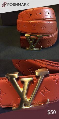 42799ef24852 Louis Vuitton Monogram Belt Brand new.