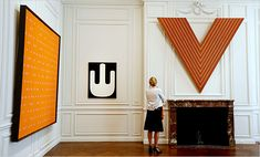 11 From the Scull Collection: Larry Poons, Myron Stout, Frank Stella
