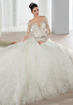 Cheap luxury wedding gown, Buy Quality sexy wedding dress directly from China luxurious wedding Suppliers: Vestido de noiva See Through Back Sexy Wedding Dress Long Sleeves Chapel Train Luxury Wedding Gown Gelinlik White Hochzeitskleid Lace Wedding Dress, 2016 Wedding Dresses, Cheap Wedding Dress, Wedding Dress Styles, Wedding Attire, Bridal Dresses, Wedding Gowns, Ivory Wedding, Lace Ball Gowns