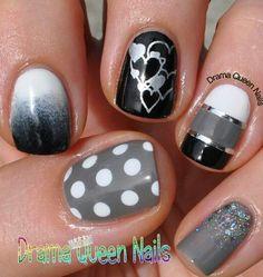 Cute nail idea No link Credit on image