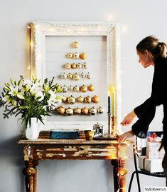 inspiroiva joulukoti,joulu,joulukuusi,joulukoristeet,Tee itse - DIY