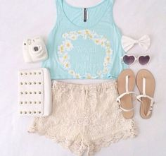 Summer style yellow, white, blue