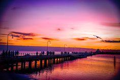 #Sunset, #stkilda, #melbourne, #australia, #evening, #colorful, St Kilda, Melbourne Australia, Saints, Colorful, Celestial, Sunset, Beach, Photography, Outdoor